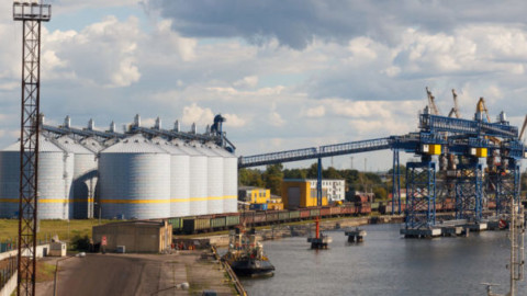 Quattro Ports grain terminal officially open