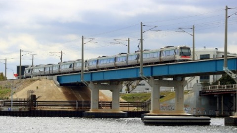 Safety measures for Fremantle rail bridge