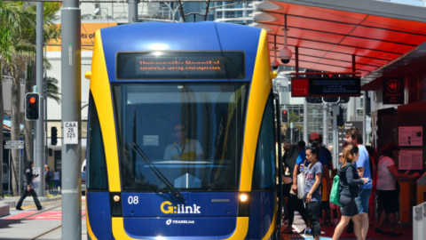 New trams on track for Gold Coast Light Rail