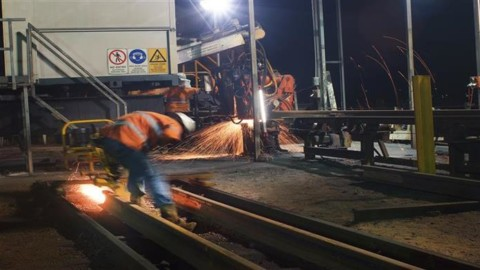 Five-year rail maintenance contract awarded