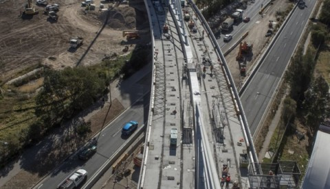 New M4 progresses with completion of Concord Road bridge