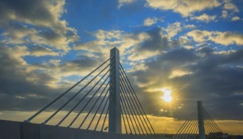 Landmark bridge works complete