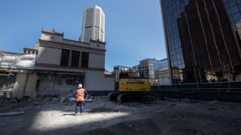 Sydney Metro Martin Place works underway