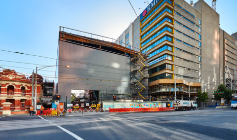 First of three sheds for Metro Tunnel complete