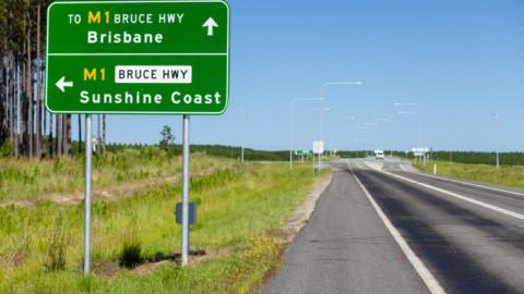 Bruce Highway safety upgrade complete