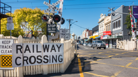 Denny Avenue level crossing removal design revealed