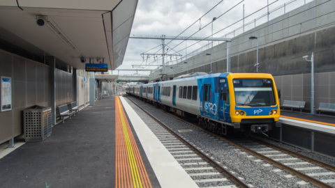 Melbourne's new trains on the way