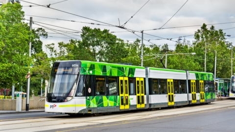 New energy management system prototype for trams