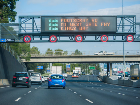 CityLink Tulla Widening cutting down travel time