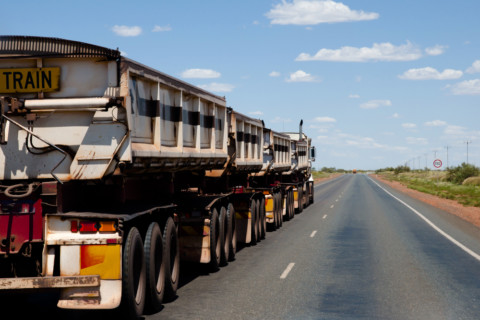 Darwin regional road train assembly area construction underway