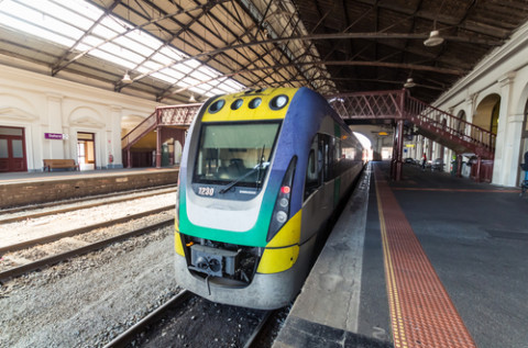 Upgraded train line for Melbourne's west