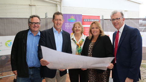 $9 million Port Macquarie Airport upgrade begins