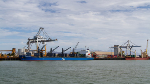 Major pipeline shipment arrives in Port of Townsville