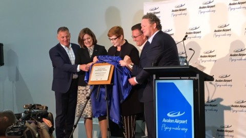 Avalon Airport goes international