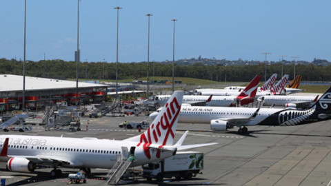 Gold Coast Airport new apron layout boosts efficiency