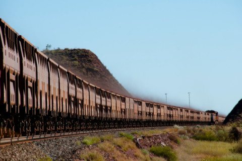 World-first autonomous trains at work in the Pilbara