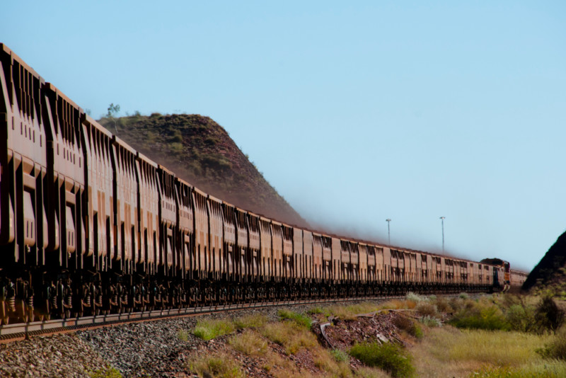 Rio Tinto world first autonomous train Pilbara Western Australia WA world's largest robot