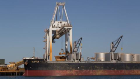 Port of Mackay opens for bulk material trade