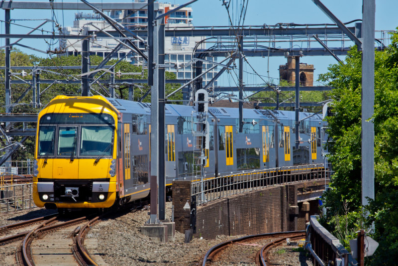 17 waratah trains sydney network
