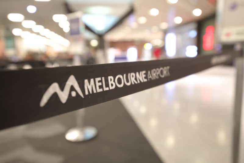 Melbourne Airport Smart Security technology screening station