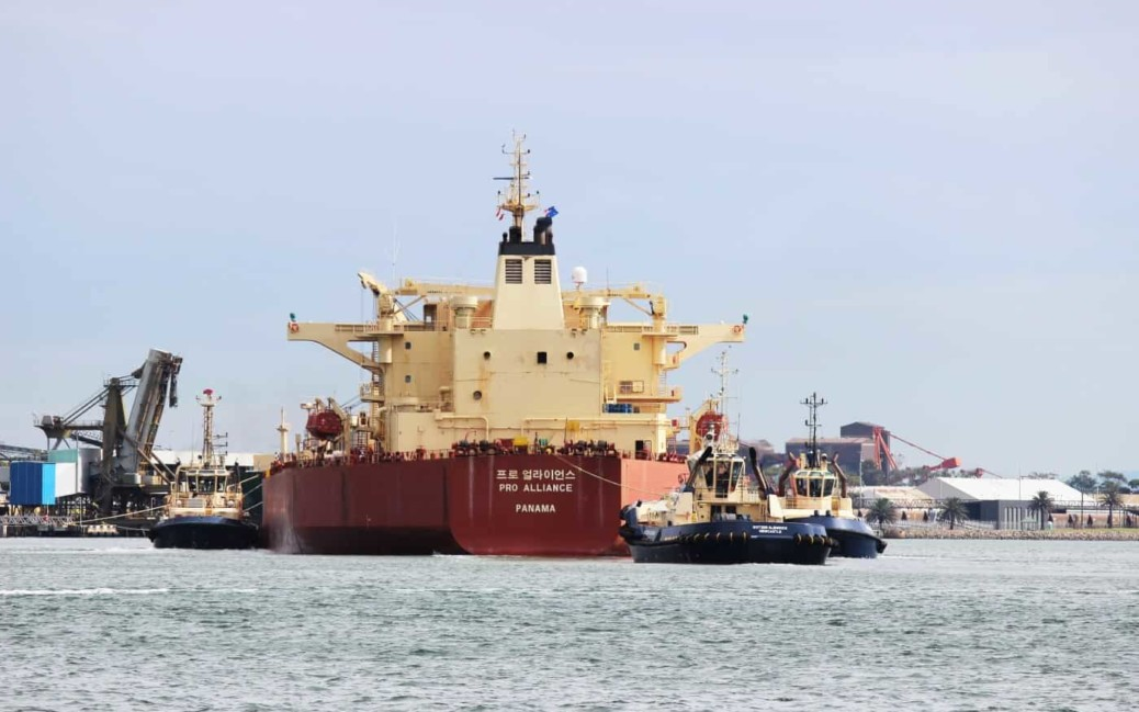 Port of Newcastle channel capacity expansion