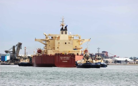 Port of Newcastle welcomes its largest ever tanker