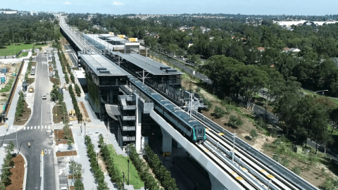 Sydney Metro opening draws near