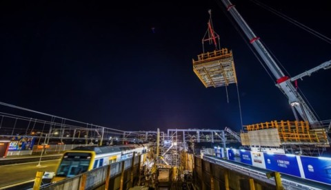 Sydenham Station upgrade reaches milestone