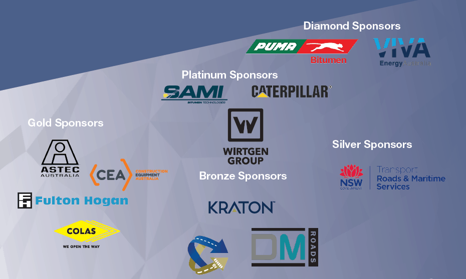 AAPA Flexible Pavements Conference and Exhibition Sponsors