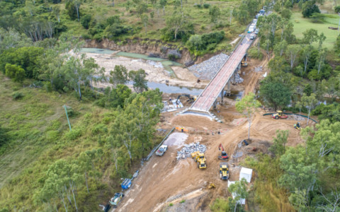 Alice River Bridge to reopen stronger than ever and ahead of schedule