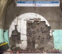 Sydney Metro breaks through under city centre