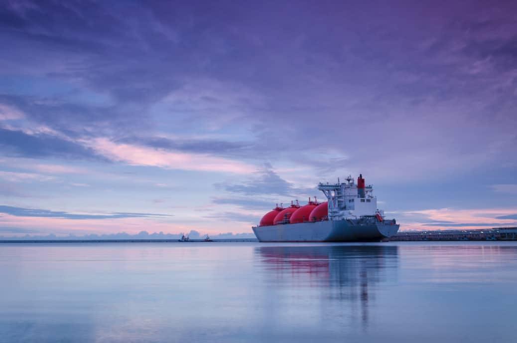 Newcastle GasDock LNG import terminal