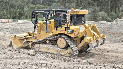 The  next level  of dozer GPS  machine control performance