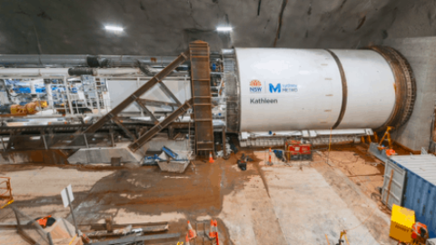 Sydney Metro begins tunnelling historic under harbour rail crossing