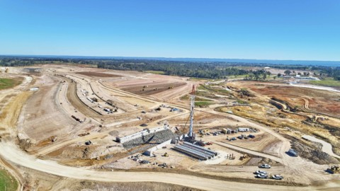 Western Sydney airport celebrates a year of construction