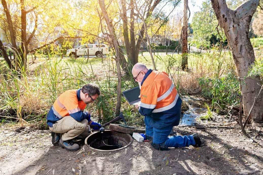 SA smart wastewater network sensors