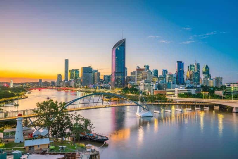 Brisbane aerial shot