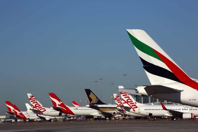 Brisbane Airport aircraft