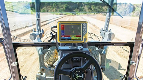 Grader machine control technology for the final trim