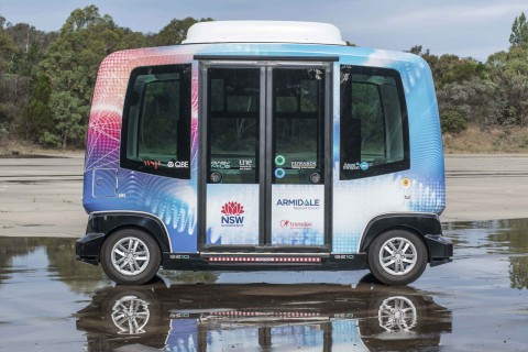 Driverless shuttle trial now complete