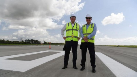 Brisbane Airport's new runway gets launch date