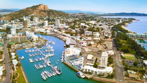 Port of Townsville begins construction on protective wall