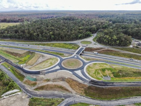 Pacific Highway upgrade forges ahead with new intersection