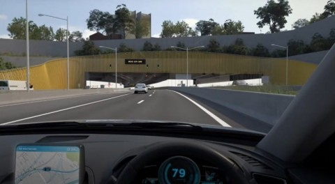 New simulated trips through WestConnex M5 Tunnels