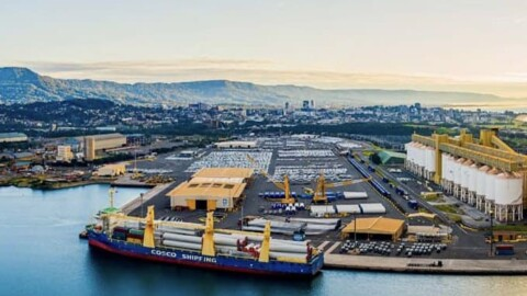 Port Kembla becomes major import hub for renewable projects