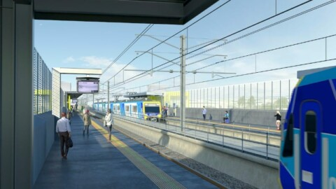 Designs unveiled for Melbourne's new Hallam Station