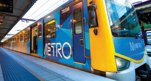 Sustainability success for Metro Trains Melbourne