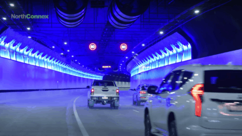 Lights, cameras, action: traffic technology transforms NorthConnex Tunnel
