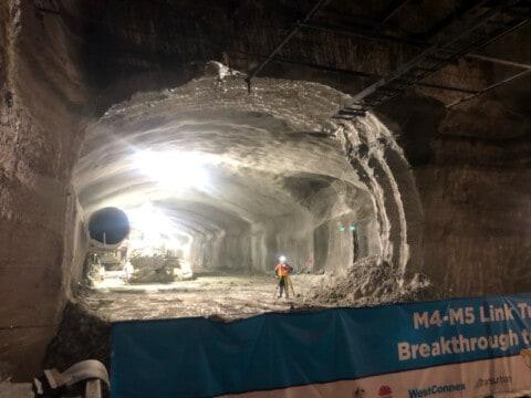 WestConnex reaches tunnel milestone