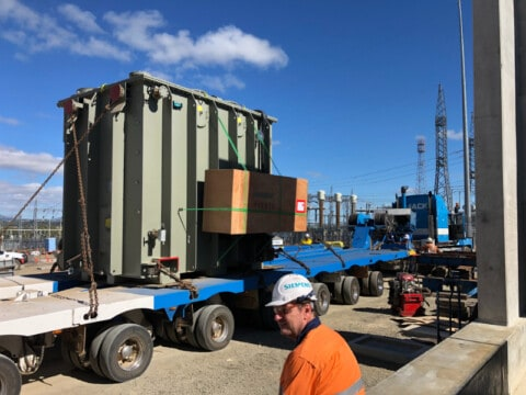 Critical equipment for Queensland-New South Wales Interconnector